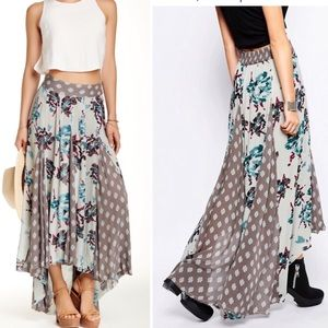 Free People | Show You Off High Low Maxi Skirt